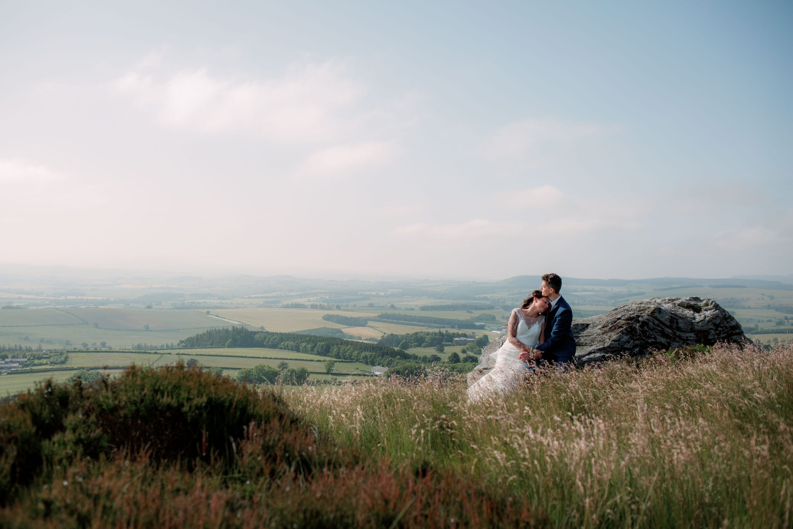 Northumberland Elopement Wedding Photography Corby Craggs