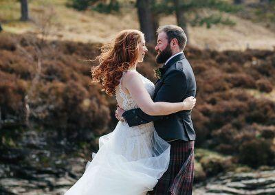 Mar Lodge Scottish Wedding photography