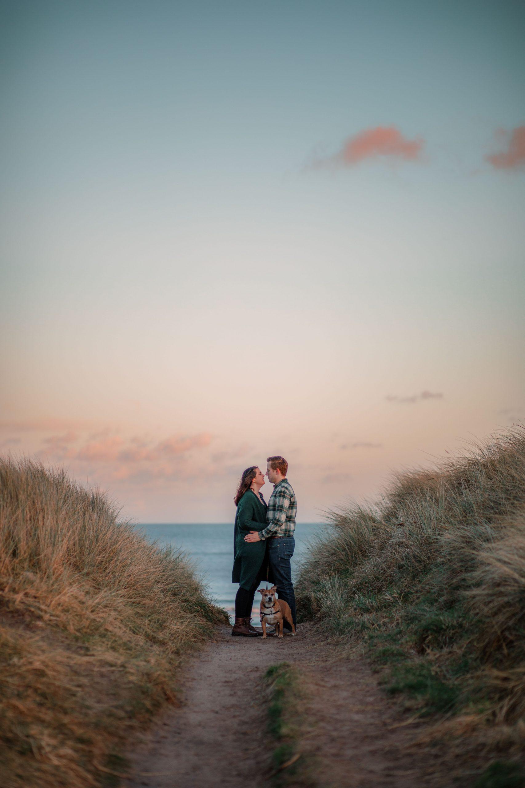 Druridge Bay Pre Wedding Shoot Photography