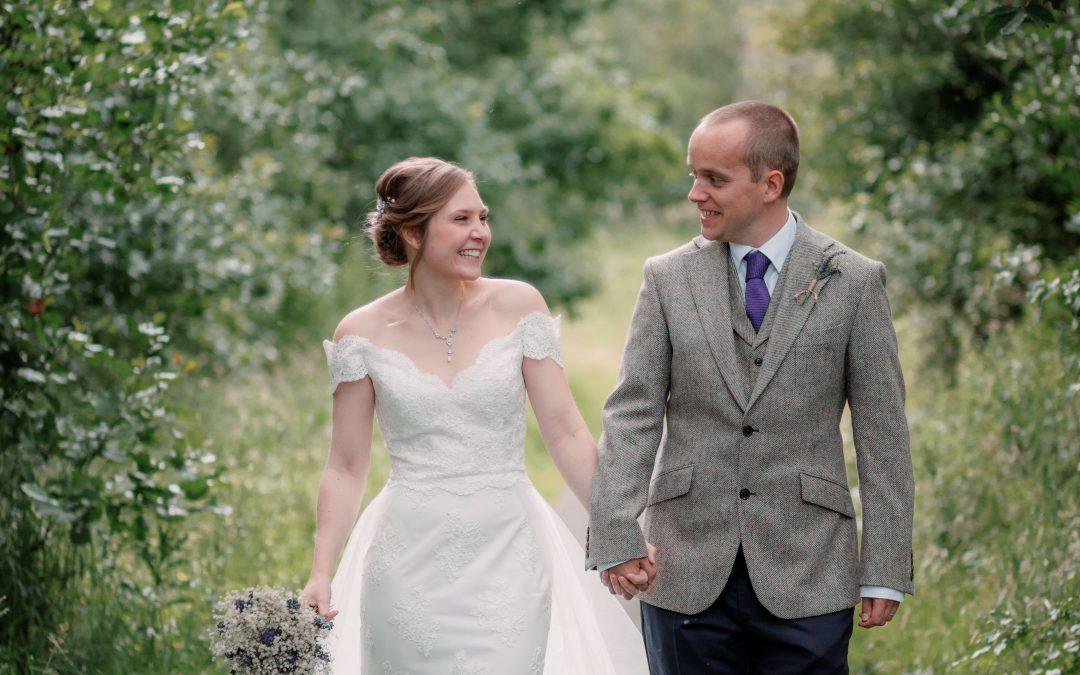 MIKE & RACHEL | LOCKDOWN WEDDING | NORTH EAST PHOTOGRAPHY