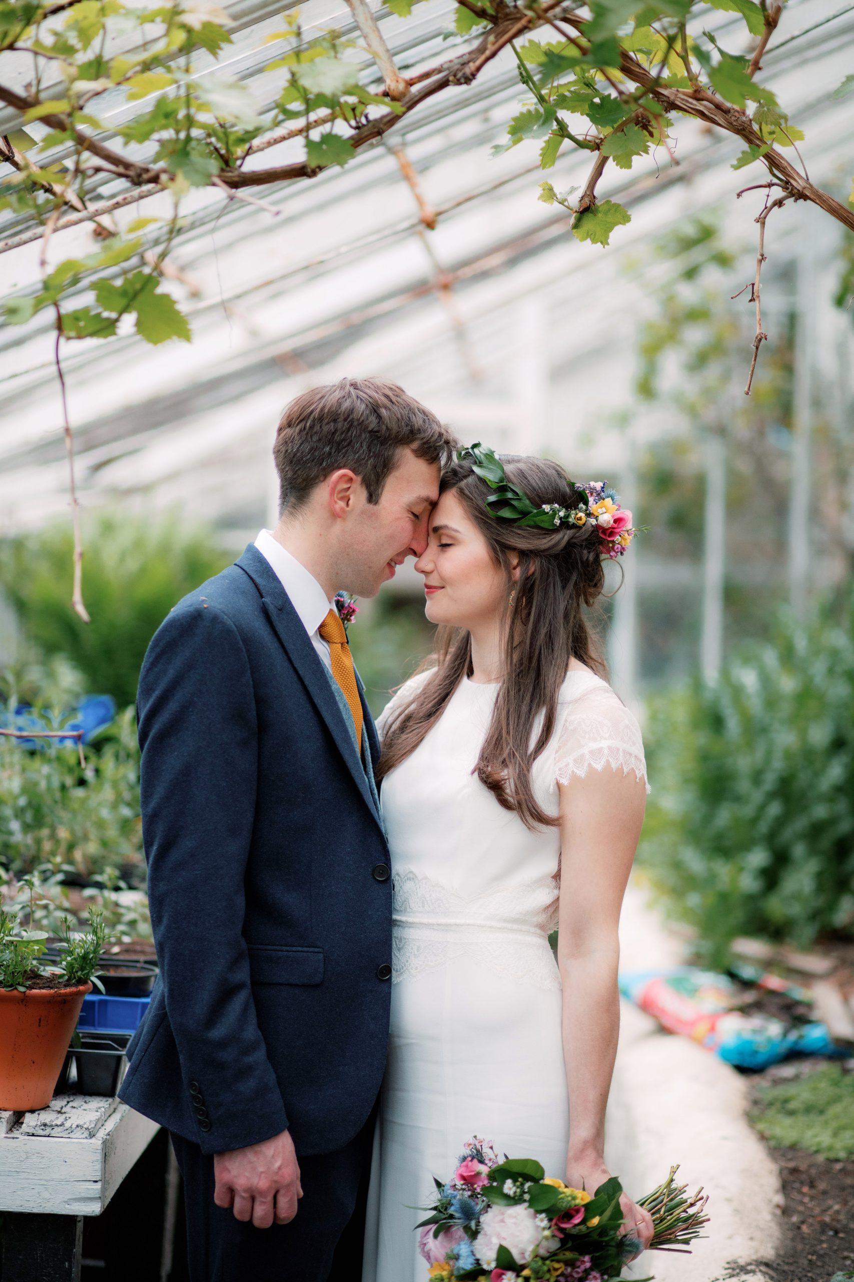 Hexham winter Gardens Wedding photography