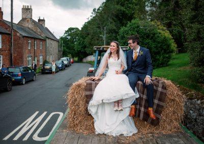 Northumberland Covid micro wedding elopement wedding photography