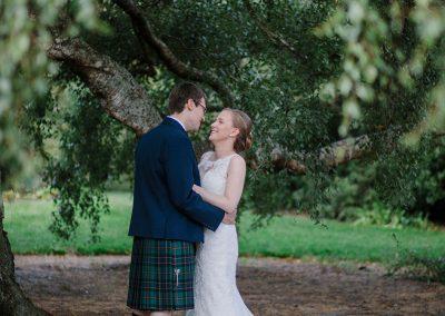 Edinburgh Botanical Gardens Wedding Photography