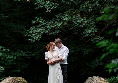 Northumberland Pre wedding shoot couple photography Jesmond Dene
