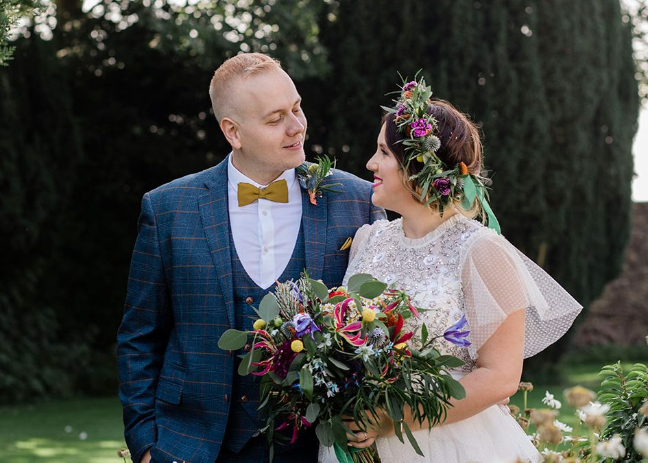BLEU & LEWIS | HALLGARTH MANOR | NORTH EAST WEDDING PHOTOGRAPHY