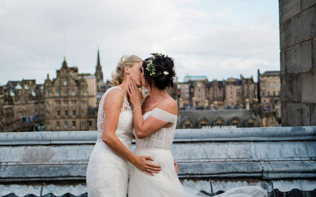 EMMA & JOSIE | THE BALMORAL HOTEL | NORTHERN WEDDING PHOTOGRAPHY