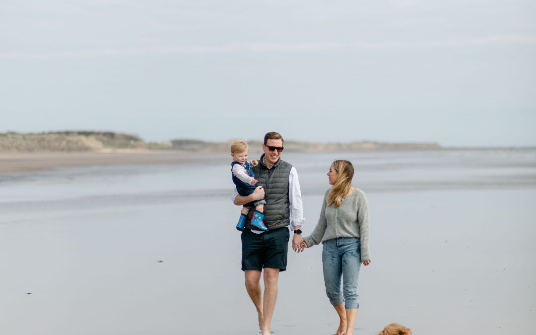 Family Shoot – Alex & Alex – Druridge Bay