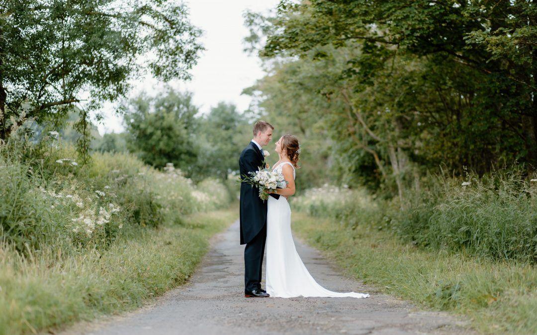 Jenny & Fraser – Private Garden Wedding – North East Wedding Photography